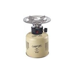 Καμινέτο υγραερίου και φιαλίδιο με βαλβίδα ασφαλείας Camper Gaz 500 Deluxe