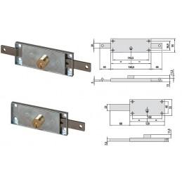 Κλειδαριές ρολλών μονές & διπλές-  41010+41110